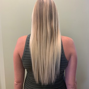 After- keratin extensions