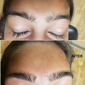 Photo of work by Eyebrow& Henna Designer