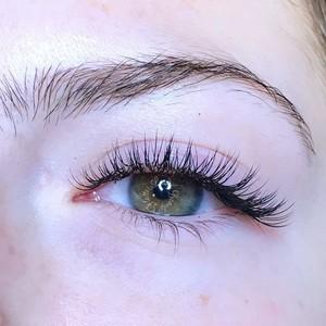 Classic eyelash extensions