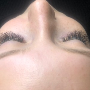 Photo of work by Indigo Lash and Beauty