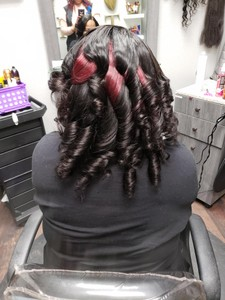 Photo of work by TJH Hair Artist