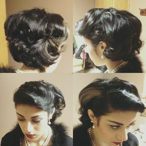 style for a 1950 theme wedding